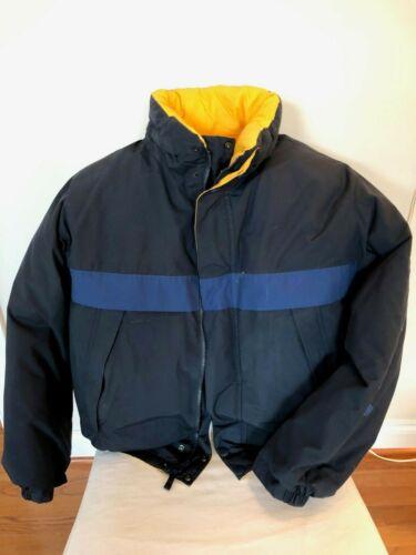 Nautica Down Filled Vintage Reversible Jacket