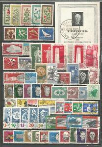 DDR   1960  gestempelt  kompletter Jahrgang