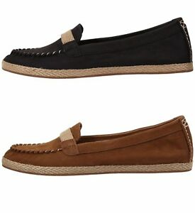 Image is loading UGG-Australia-Womens-Rozie-Moccasins-Suede-Espadrilles- Women-