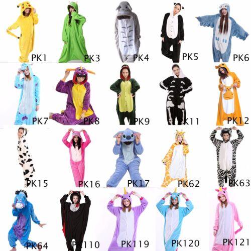 US Seller-Animal Bodysuit Kigurumi Unisex Cosplay Various Costume Sleepwear PKC1