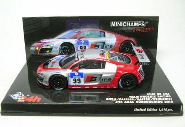 Audi R8 Lms N°99 24h Nürburgring 2010