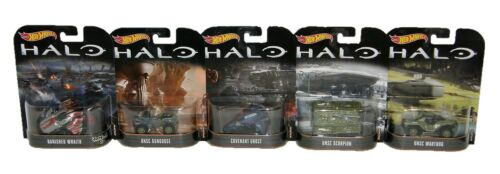 Mattel Hot Wheels HALO 5-Piece Vehicle Set 1:64 Toys and Collectibles Brand New