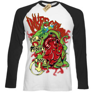 Inkfection-T-Shirt-tattoo-Get-your-dose-Mens-Baseball
