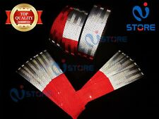 Dot C2 Conspicuity Reflective Tape 6 Red Amp 6 White Safety Warning Trailer Rv