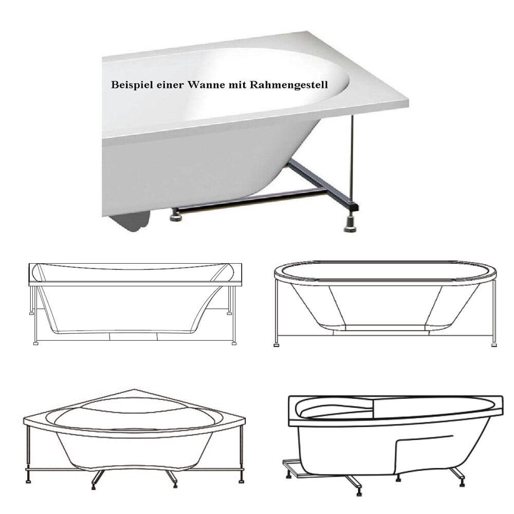Rahmengestell zu Badewanne Triangl R