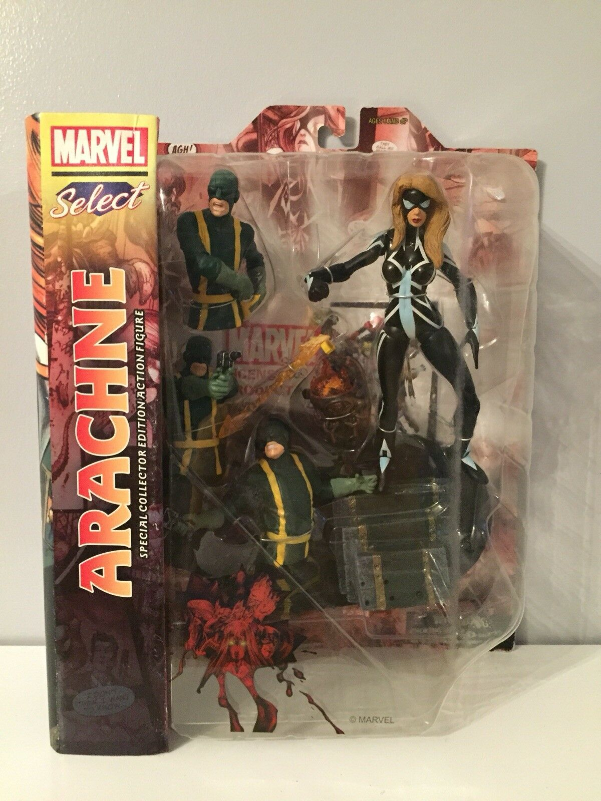 Marvel Select Arachne Figure BNIB