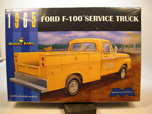 1965-FORD-F-100-SERVICE-TRUCK-MOEBIUS-MODELS-1-25-SCALE-PLASTIC-MODEL-KIT