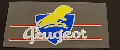 1 Pair Left Facing-Large Peugeot Lions Seat Tube Decals sku Peug302