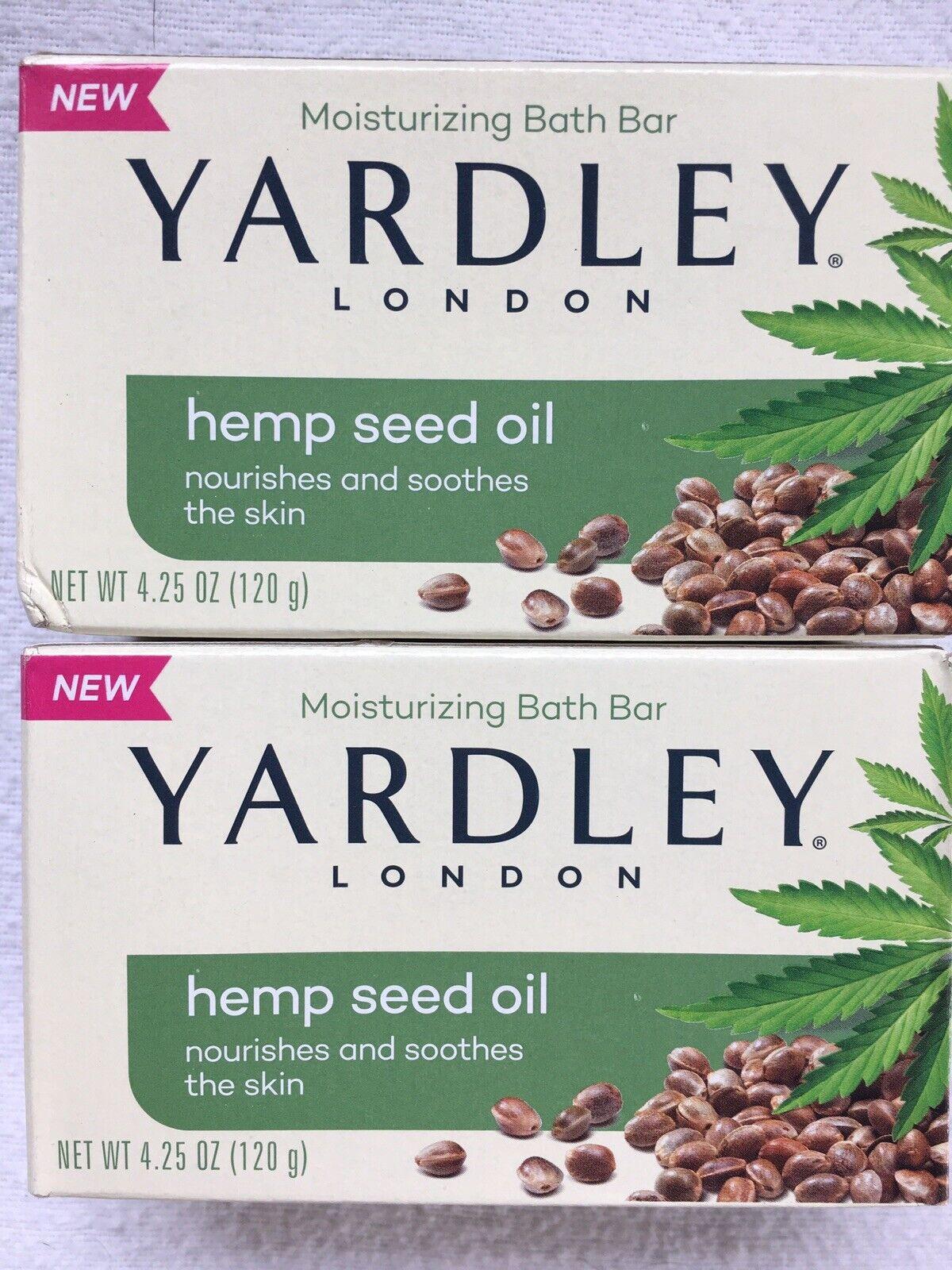 6x Yardley London Moisturizing Hemp Seed Oil Bath Bar Soap 4 25 Oz Each For Sale Online Ebay