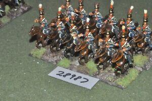 25 mm Lanciers napoléoniens / français-polonais 12 figurines Cav (28987)