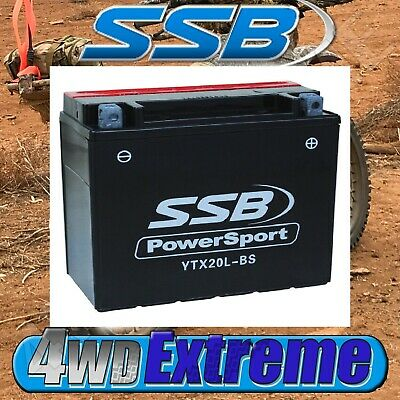 YTX20L-BS SSB MOTORCYCLE BATTERY HIGH PERFORMANCE SUIT MANY BIKES YTX20LBS  | eBay