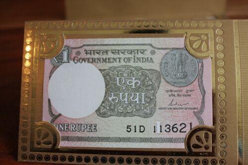 One Rupee Design Shagun Money Wedding Gift Envelope Wallet Gold// Beige colours