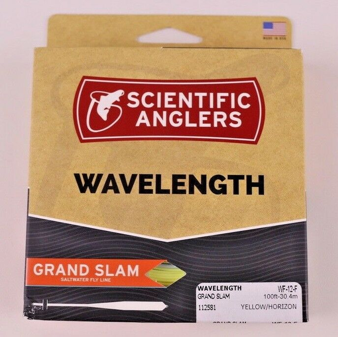 Scientific Anglers Wavelength Grand Slam Fly Line WF12F ON SALE 112581