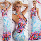 robe femme longue robe floral long décoration strass central 3 colori