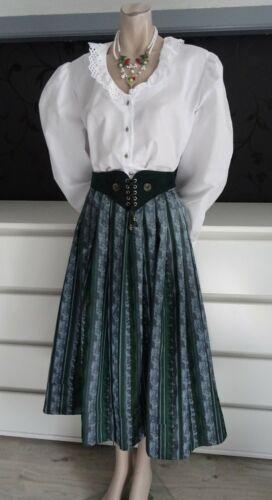 Dirndl Skirt German Bavarian Blouse Belt Outfit  1