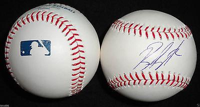 Balls Billy Butler Signed Omlb Baseball Oakland Athletics Kansas City Royals Coa K1