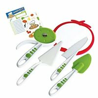 Curious Chef 5-piece Pizza Kit , New, Free Shipping