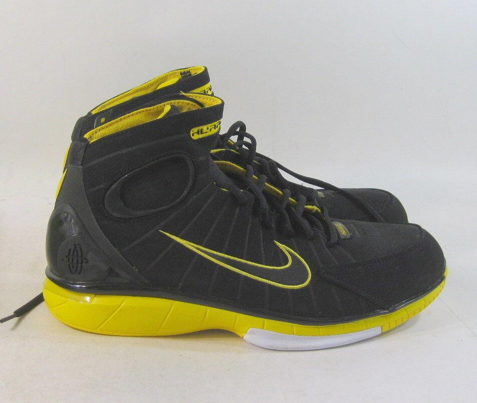 Nuevo Nike Zoom Huarache 2K4 Negro Varsity maíz maíz maíz 511425-007 Talla 10.5 08d6fd