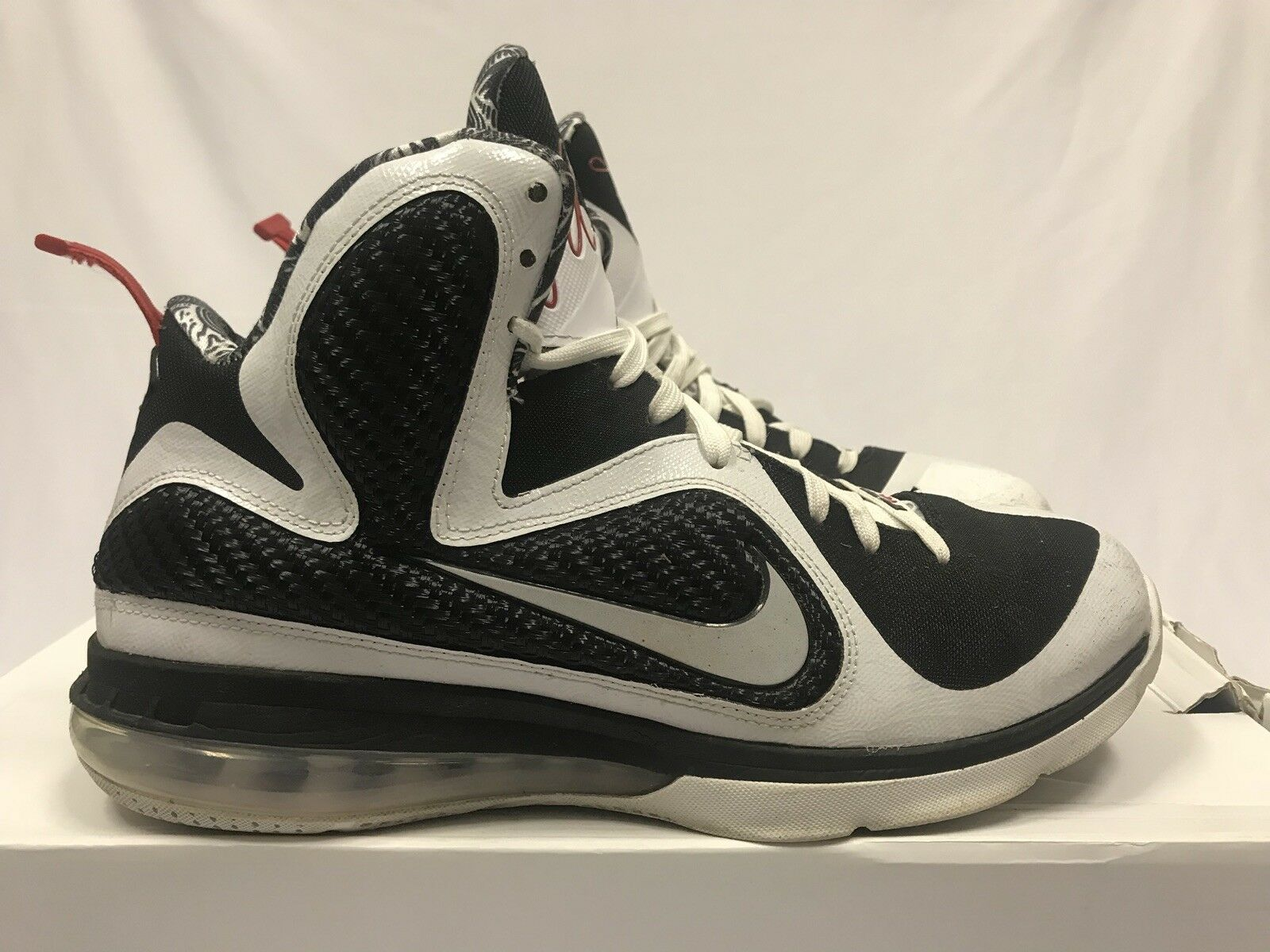 Nike Lebron 9 Freegum Size 10.5 Black White