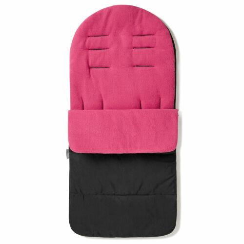 Rosa Rosa Duo Premium Saco//Cosy toes compatible con Bugaboo Burro
