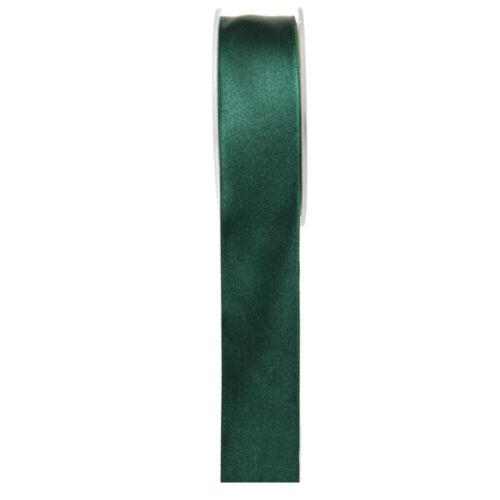 Satén banda 25mm x 25m verde oscuro cintas regalo banda bucles invitado regalos
