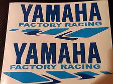 2 x Yamaha Racing R1 R6 R125 R3 M1 Race Vinyl Sticker Decals in pairs