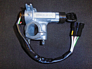 AUSTIN-ROVER-METRO-STEERING-IGNITION-LOCK-ONE-KEY-WITH-CLAMP-amp-SHEAR-BOLTS-NEW