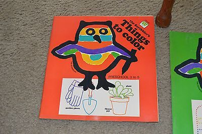 Vintage Unused Whitman The Scribbler\'s Things To Color Coloring Book 1977 |  eBay