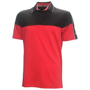 Adidas-Golf-Men-039-s-Ultimate-365-LC-Stripe-Polo-Shirt-Brand-New