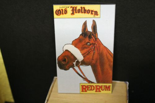 Metal Drinks Sign  = RED RUM DOLLS HOUSE