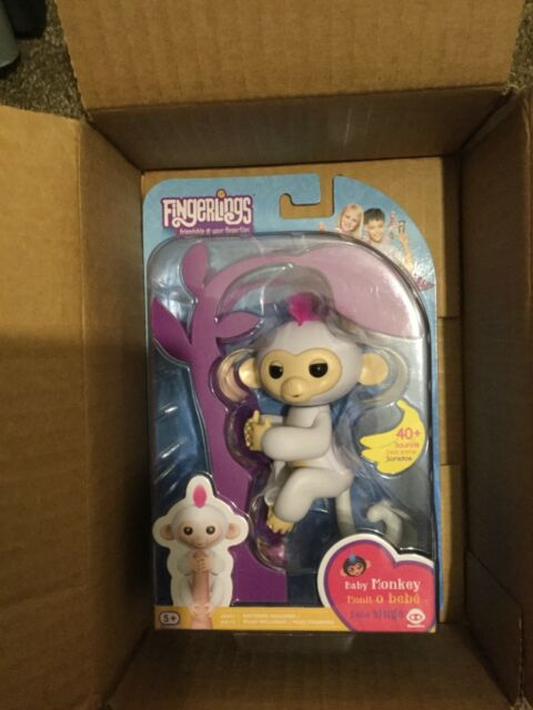 Electronic, Battery & Wind-up Authentic Fingerlings Baby Monkey Sophie Interactive Must Have Toy Ready To Ship