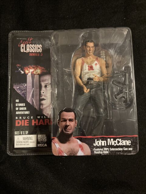 NECA Cult Classics Series 3 Die Hard JOHN McCLANE Bruce Willis Action Figure