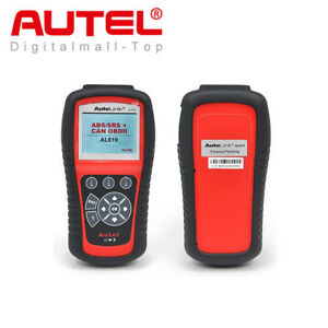 Autel AL619 Autolink OBD2 Diagnostic Tool CAN Car Fault Code Reader ABS Airbag