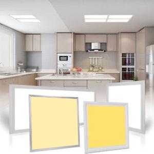 Details zu Ultraslim LED Panel Deckenleuchte Deckenlampe Wandleuchte Flach  Leuchte Küche