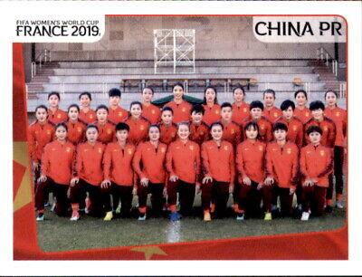 Panini Frauen Wm 2019 Sticker 120 - Team - China