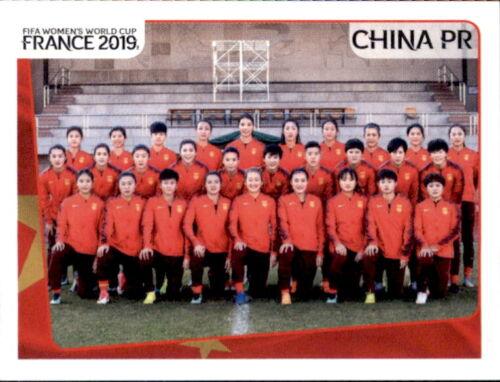 China Team Panini Frauen WM 2019 Sticker 120