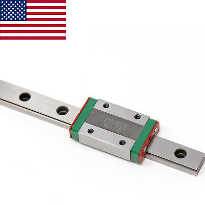 UniTak3D MGN12 Linear Sliding Guide Rail 350mm with MGN12H Bearing Steel Carriage Block for CoryXY DIY 3D Printer and CNC Machines
