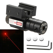 Quality Red Laser Dot Sight Scope for Gun Rifle Pistol 11//20mm Picatinny Mount