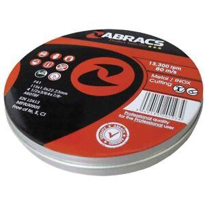 ABRACS-Proflex-Discos-de-Corte-115-Mm-x-1-mm-Extra-Thin-Inox-Lata-De-Trabajo-De-Metal-10