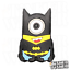MINIONS-Schuh-Pins-Crocs-Clogs-Disney-Schuhpins-Basteln-Batman-jibbitz Indexbild 13