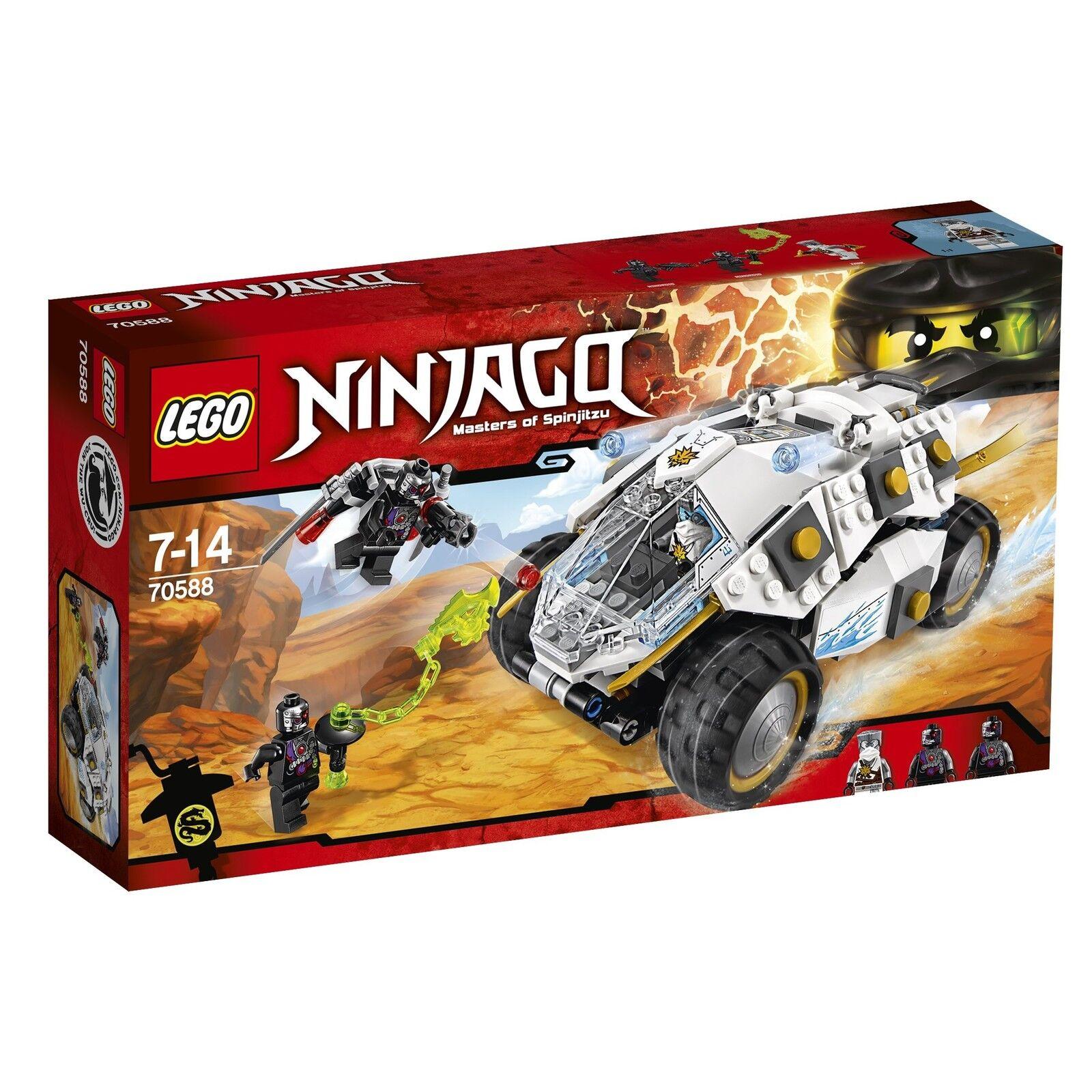 Lego 70588 Ninjago Ninja De Titanio Conjunto de Construcción Construcción Construcción de vaso  auténtico