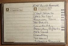 Nine Pound Hammer -1987 Demo cassette tape - Rare Cowpunk - Kentucky hard rock