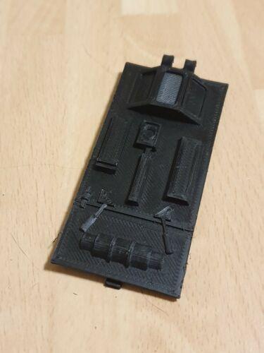 Vintage Star Wars Rebel Transport Bottom Door Hatch Ramp 3D Printed
