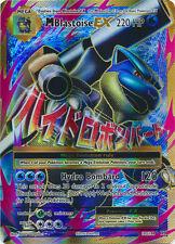 1x Mega-Blastoise-EX - 102/108 - Full Art Ultra Rare NM-Mint Pokemon XY - Evolut