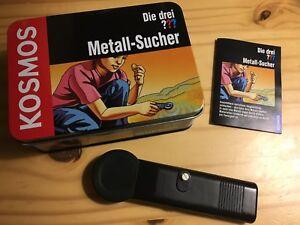 Kosmos-63123-Die-drei-Metall-Sucher-defekt-Wackelkontakt-Box-Dose-Anleitung