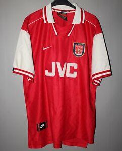 527642895b0d6 ARSENAL LONDON 1996 1997 1998 NIKE HOME FOOTBALL SOCCER SHIRT JERSEY ...