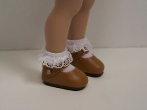 Debs DK PINK Faux Suede Loafer Tennis Doll Shoes For Helen Kish Riley Doll