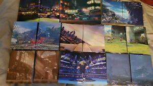 New Street Fighter V 10 Background Accessory Lot No Figuarts