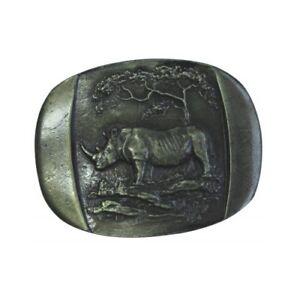 clair et distinctif vente moins chère dernière remise Ceinture joins Rhinocéros 4,0 cm Boucle de ceinture buckle ...