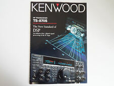 KENWOOD TS-870S (GENUINE BROCHURE ONLY)............RADIO_TRADER_IRELAND.